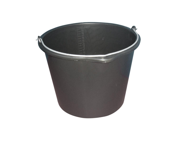 baueimer m rteleimer 20 liter schwarz kabou bauwerkzeuge. Black Bedroom Furniture Sets. Home Design Ideas